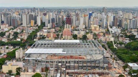 Arena da Baixada, Curitiba, 21 Jan 14