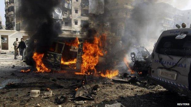 Violence in Aleppo, 21 Jan