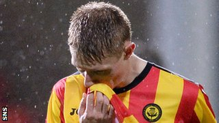 Partick Thistle midfielder Chris Erskine