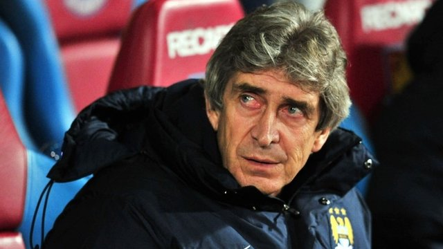Man City boss Manuel Pellegrini