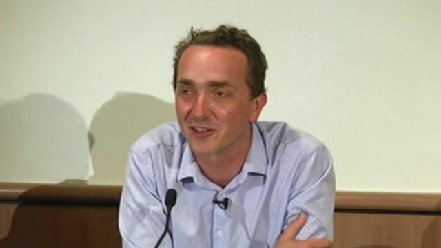 Professor Chris Turney, leader of the Australasian Antarctic Expedition