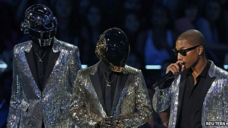 Daft Punk and Pharrell