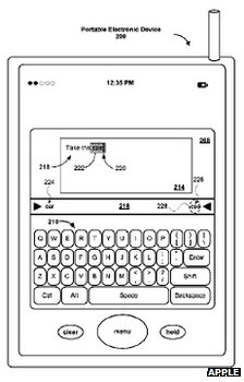 Apple auto-complete drawing