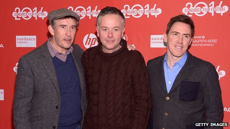Steve Coogan, Michael Winterbottom and Rob Brydon
