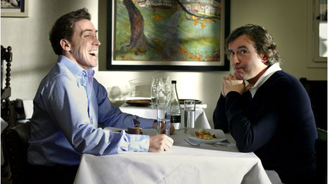 Rob Brydon and Steve Coogan in The Trip