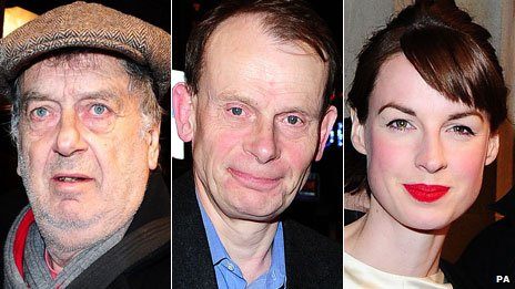 Stephen Frears, Andrew Marr and Jessica Raine