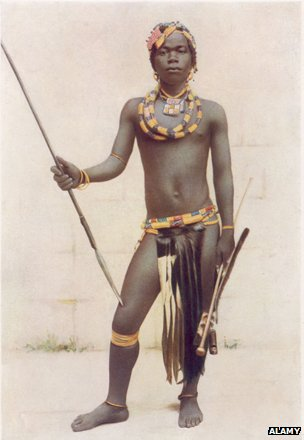 Zulu warrior