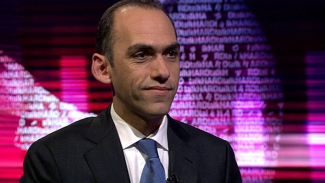 Cyprus Finance Minister, Harris Georgiades