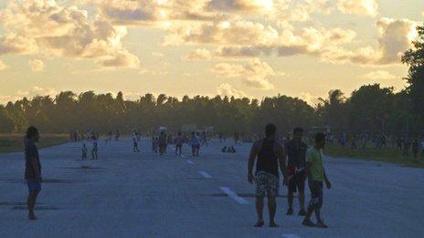 Tuvalu airfield