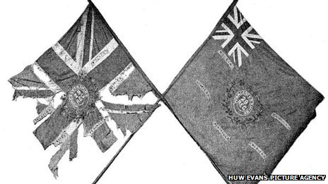 Flags which have gone scruffy