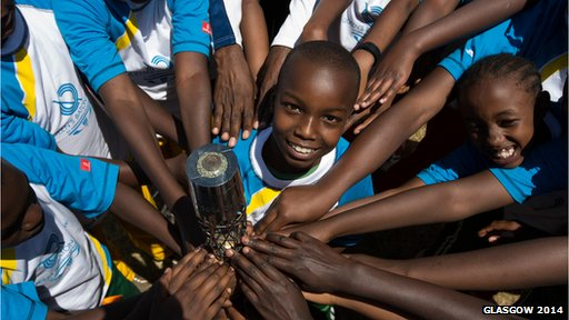 Queen's Baton Relay in Kenya