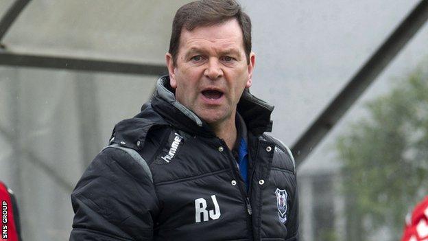Ross Jack has left Elgin City