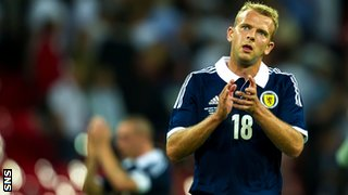 Blackburn and Scotland striker Jordan Rhodes
