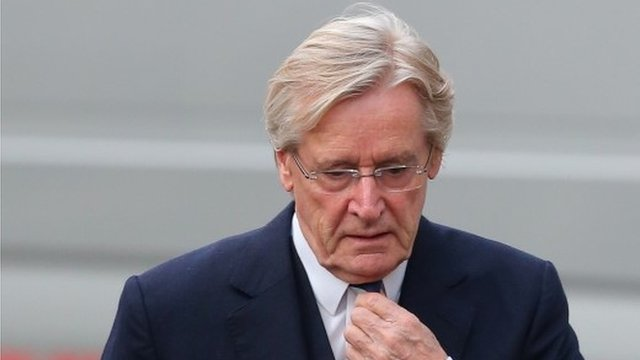 William Roache arrives at Preston Crown Court on Wednesday
