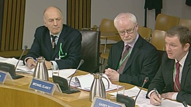 Witnesses before the Infrastructure and Capital Investment Committee