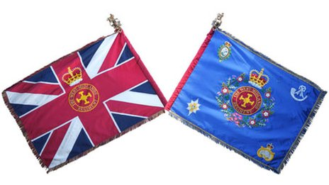 West Midlands regiment flag (right)