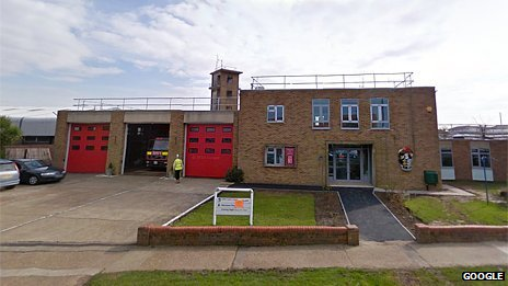 Felixstowe fire station