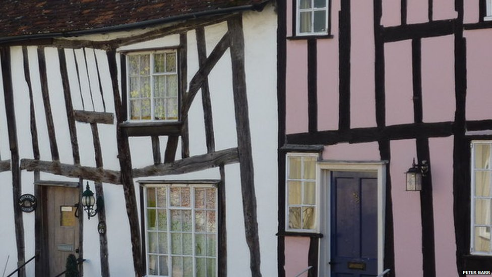 Houses in Lavenham