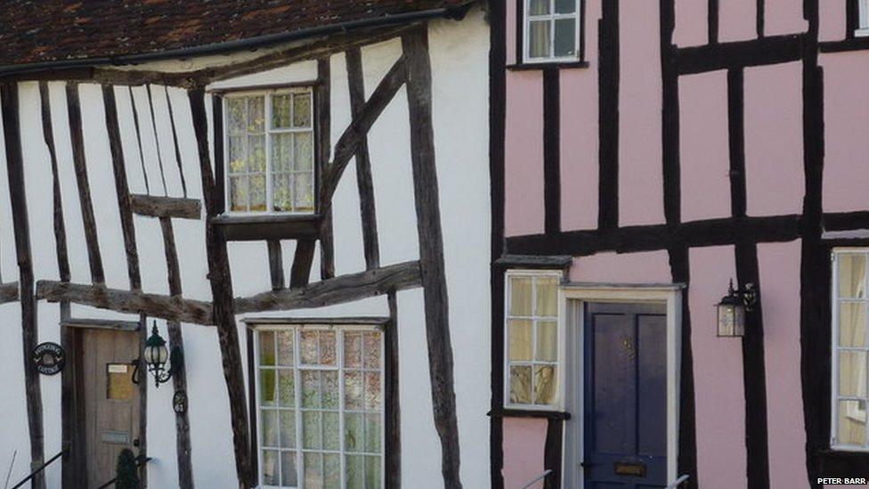 Houses in Lavenham