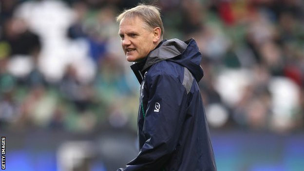 Ireland coach Joe Schmidt