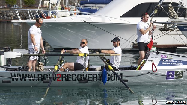 Row2Recovery team
