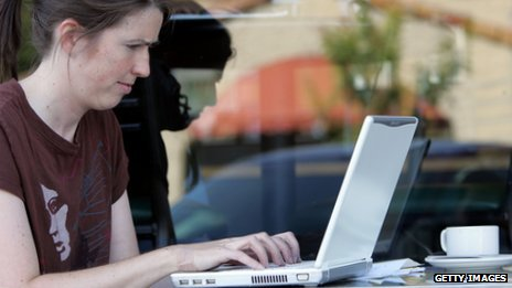 woman with lap-top