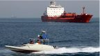 Oil tanker SC Hong Kong is seen off the Iranian port of Bandar Abbas (2 July 2012)