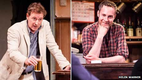 Risteard Cooper and Peter McDonald in The Weir