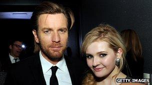 Ewan McGregor and Abigail Breslin
