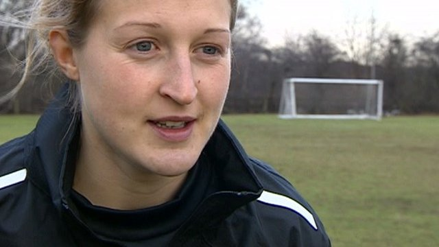 Notts County striker Ellen White