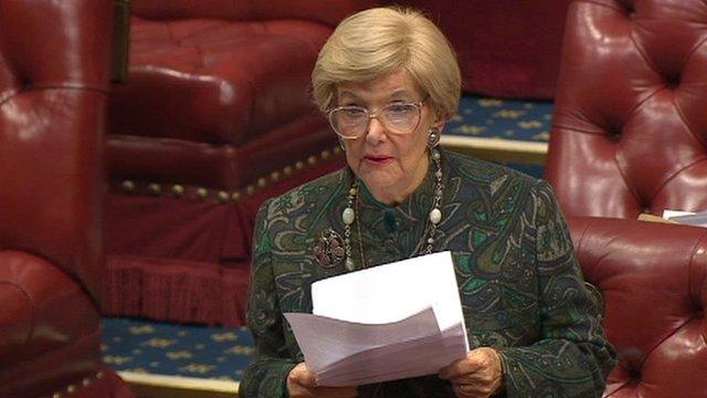 Conservative peer Baroness Gardner of Parks