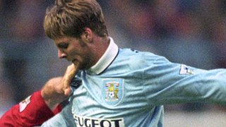 Steven Pressley made his Coventry City debut at Arsenal, October 1994