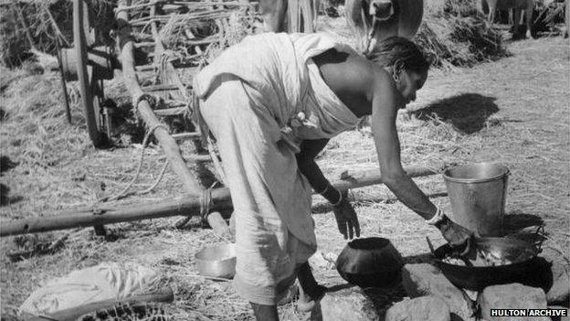 Santhal woman