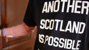 T-shirt with another Scotland is possible
