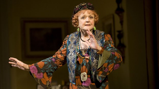 Angela Lansbury as Madame Arcati in Blithe Spirit on Broadway in 2009