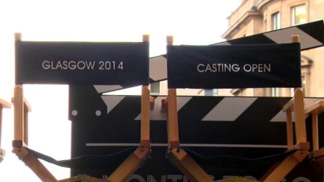 Glasgow 2014 volunteer recruitment sign