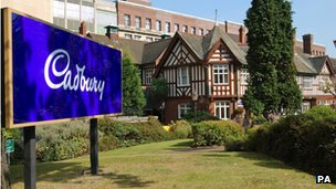 Part of Cadbury's offices in Bournville