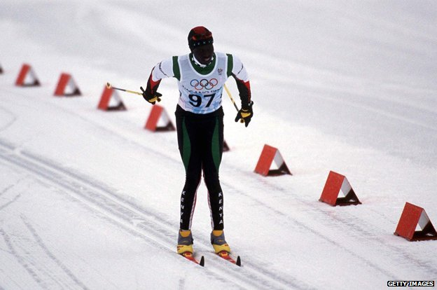 Philip Boit competing at the 1998 Winter Olympics