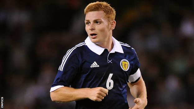 Wigan's Scotland Under-21 international midfielder Fraser Fyvie