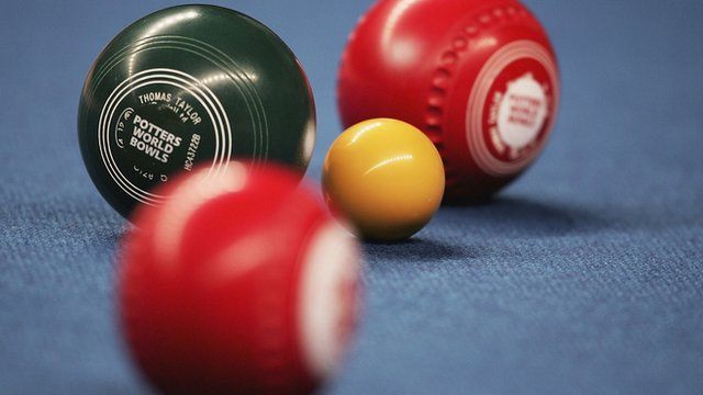 world indoor bowls