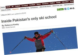 Pakistan ski school story