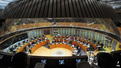 Welsh Assembly in Cardiff