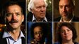 Cmdr Chris Hadfield, Norman Kember, Jimmy Wales, Leyla Hussein and Jess Thom