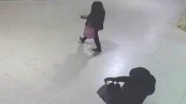 CCTV footage from Barking Station