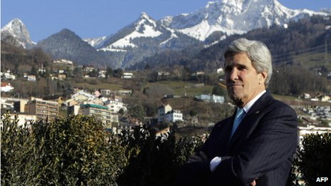 John Kerry in Montreux
