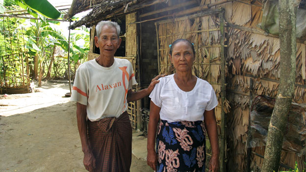 Ken's parents in Burma