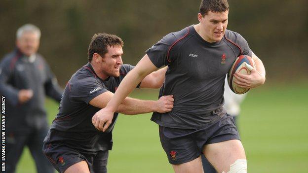 Huw Bennett and Ian Evans