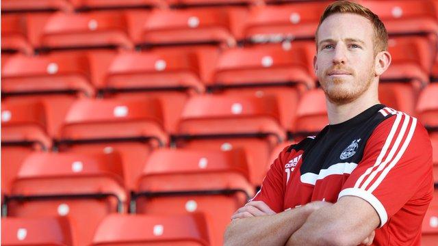 New Aberdeen signing Adam Rooney