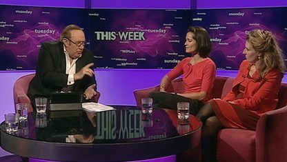 Andrew Neil, Amanda Stretton and Miranda Green