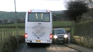 Vehicles on route from Carleton-in-Craven to Skipton